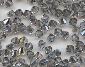 T4 5301 CY *** 20 bicone beads crystal Swarovski 5mm CRYSTAL SATIN