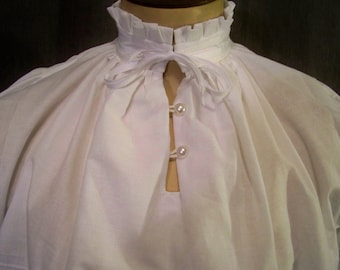 Fancy Dress Shirt Renaissance Elizabethan SCA Faire