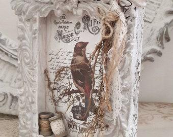 Vintage Bird Nest