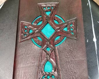 Leather bound journal.