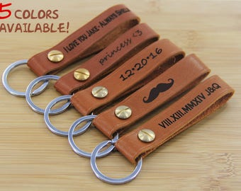 Monogram Keychain, Monogrammed Keychain,Personalized Key Chain, Initial Keychain, Key Fob, Custom Keychain Leather Key Chain, Key Chain