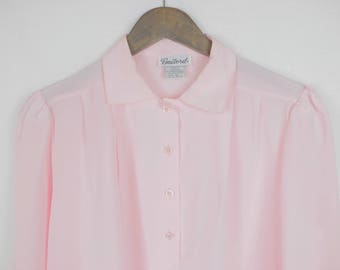 Gailord Baby Pink Vintage Blouse