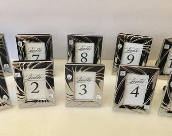 Elegant Wedding Table Numbers Up To 30