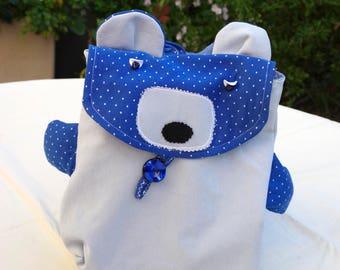 Kids backpack, bag for kids, Teddy bear, bag straps, Kids Christmas gift kids backpack