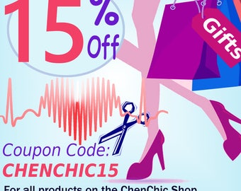 Shop Coupons, Discount Code, Group Discount, Printable Coupons, Coupon Code: CHENCHIC15, 15% Off, Not For Sale