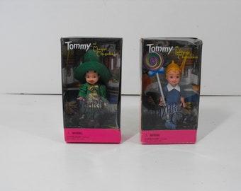 Mayor and Lollipop Munchkin  Barbie Tommy Dolls Wizard of Oz  (1585)
