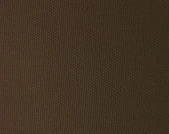 "Solid Canvas Waterproof Outdoor Fabric 60"" Wide Per Yard BROWN"
