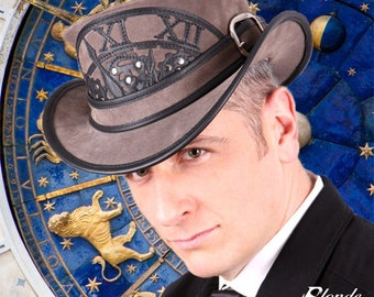 Steampunk Clock Top Hat