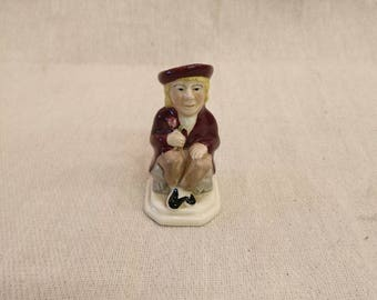 Wood Potter's of Burslem, England, The Lover, miniature jug