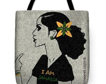 I Am Jamaica Signature Bag