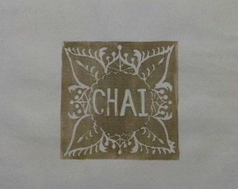Tea Set: Chai