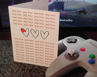 Geeky Love Card - Hearts Replenished (1 PC)