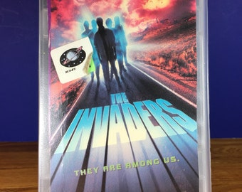 The Invaders VHS