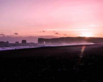 Icelanding Landscape - Dyrholaey Arch