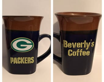 Green Bay Packers Coffee Mug Personalized