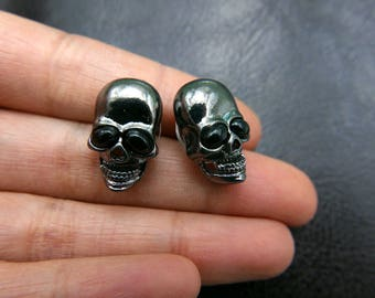 Skull Stud, Skull Earrings,
