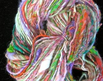 handspun yarn, Florida Azalea