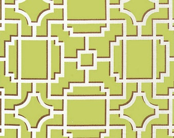 Michael Miller 1 yard- Mod Lattice - Pistachio- BTY - More available-BTY