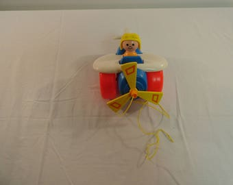 1980 Fisher Price Toys Pull Plane Number 171