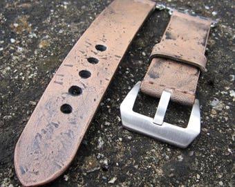 Apple Watch Strap, Strap For Apple 42mm, Leather Apple Strap, Vintage Brown
