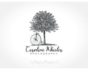 Logo Design (Premade), Tree logo, Bicycle logo, Photography logo, Vintage logo, Business logo