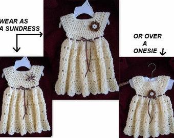 crochet pattern, dress,  girls dress, baby dress, Lainie, toddler, Instant Download, num. 770