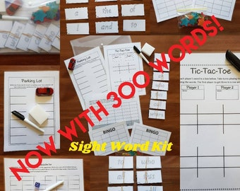 Sight Word Kit (300 words!)