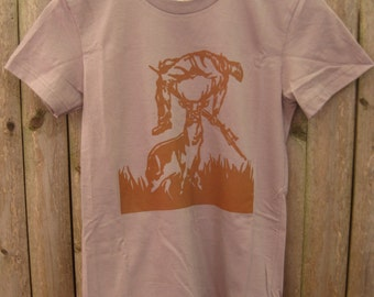 Deer vs Hunter: Women's T-shirt (Cinder)