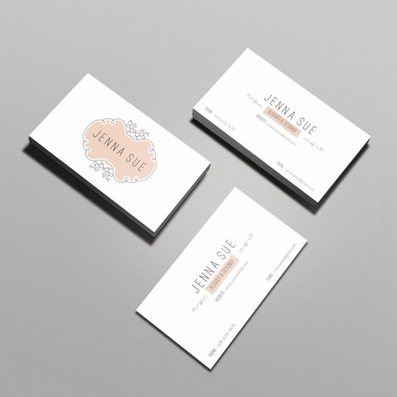 Elegant business card template business card designcustom elegant business card template business card designcustom business cardpeachy framemodern business card templateprintablecalling card cheaphphosting Images