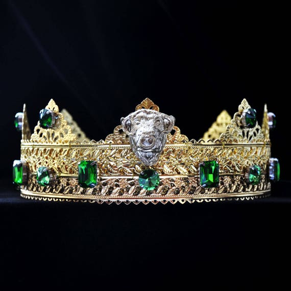 Image result for male emerald crown