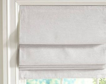 Faux Flat Roman Shade Valance *Labor Only