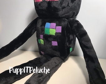 Plush inspired by Minecraft ENDERMAN