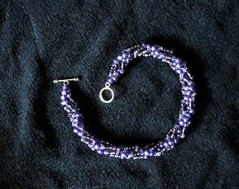 Spiral Stitch Bracelets