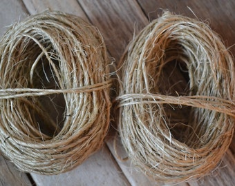 Sisal Twine for Craft Supply, 30 Yard Rolls | 1 Roll