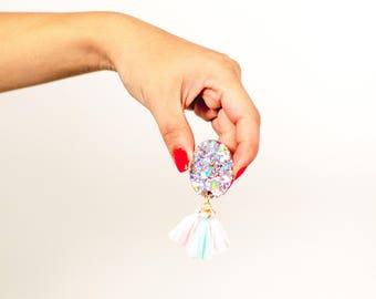DISCO FRILL DAZZLERS Resin Earrings