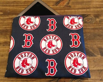 Boston Red Sox Padded Tablet and iPad Case, BoSox Baseball Tablet and iPad Cover, MLB Tablet/iPad Case, Baseball Tablet and iPad Cover