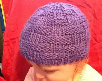 Woven Basket Weave Hat Pattern