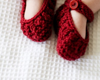 Abigail Shoes PDF Knitting Pattern