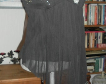Steampunk burlesque corset top with beaded lace goth day of the dead zombie steampunk