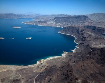 Lake Mead, Nevada, Photo Print
