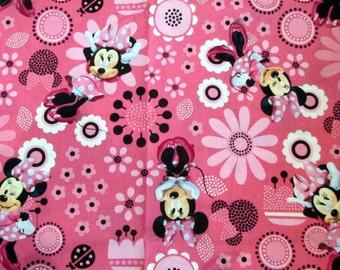 Minnie Mouse, Chemo Cap, Hair Loss, Alopecia, Skull Cap, Surgical Cap, Bald, Disney, Do Rag, Bandana, Hat, Helmet Liner, Girls, Women, Caps
