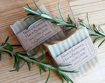 Solid Shampoo Bars (Organic Natural)