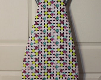 Multi Colored/ Polka Dot/Flowered Padded Ironing Board Cover-Standard Ironing Board-15x54 Inches