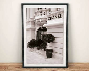 Chanel, Chanel Print, Chanel Poster, Chanel Photo, Fashion, Fashion Print, Fashion Poster, Fashion Photo, Fashion Art, Black and White, Art
