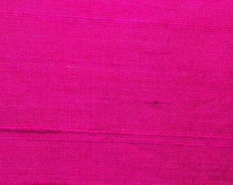 Silk Dupioni Hot Pink