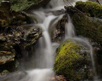 Waterfall Original Fine Art Photography 5x7 8x10 11x14