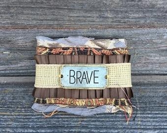 Brave fabric cuff