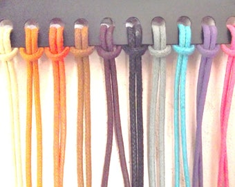 Cord ties glasses 12 colors to choose man or woman