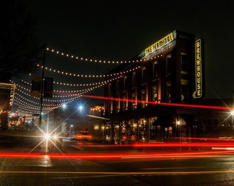 Station Street - Chattanooga, TN Glossy Print
