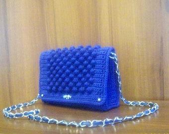 Crochet purse, crochet bag, shoulder bag, handmade bag, crochet pouch, handbag, gift for her